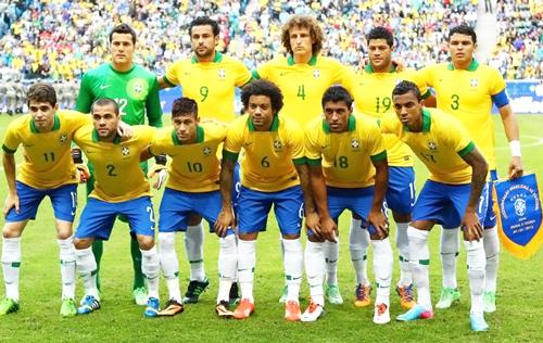 サッカーブラジル代表のメンバー...
